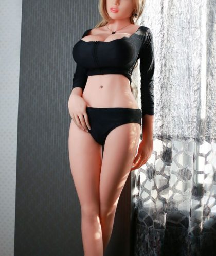 165cm Elegant Blonde Tpe Sex Dolls Slim Waist For Sale
