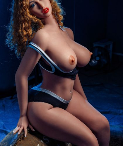162cm Real Giant Silicone Sex Dolls Blonde Curls - Frances