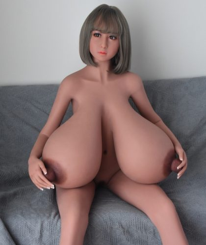 158cm M-cup Two Hole Busty Bbw Sex Doll - Nipples