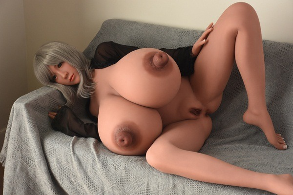 146cm Busty Blow Up Sex Doll 2 Hole In The Nipple