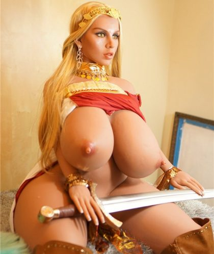 O Cup Boobs Roman Warrior Bbw Sex Doll