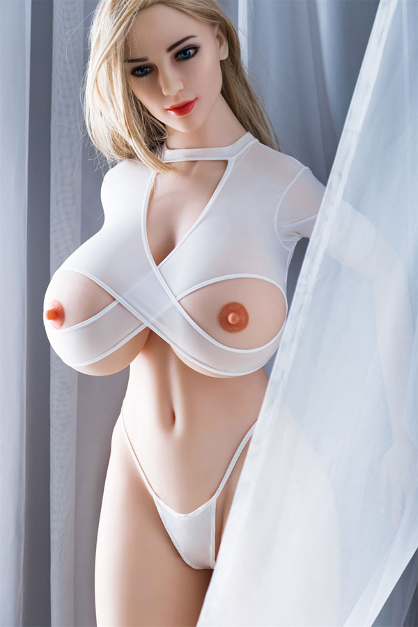 170cm Real Glamour Blonde Hair Silicone Sex Doll - Victoria